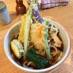 麦 kamiuma ASAHIYA - 野菜天かけ(温)