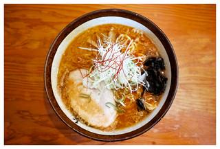 麺屋 つくし - 「辛味噌ラーメン・脂ふつう」(2017.05)