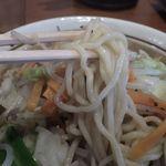 ベジ麺処 鶻 - 太麺