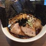 麺屋 翔 - 仙台ブラック海苔トッピング再び