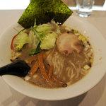 目黒 虎心房 - 黒虎心麺(500円/オープン記念価格)