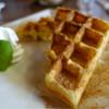 茶房 白竹 - 料理写真:ワッフル(蜂蜜&シナモン)