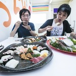 丸栄鮮魚店 - お造りも寿司盛りも新鮮!       お箸が止まりません。