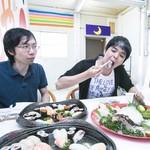 丸栄鮮魚店 - かぼすヒラメの新鮮なプリプリの食感がたまりません!