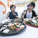 丸栄鮮魚店 - 別府の鮮魚に思わず舌鼓を打ってしまいます。