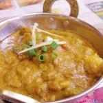 シリジャナ - 料理写真:野菜カレー