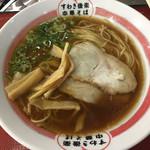 吉備サービスエリア(上り線)レストラン - 中華そば(醤油)