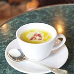 カフェ・ミケランジェロ - 枝豆の冷製スープ