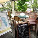 air cafe - 外観1 オープンテラス