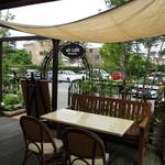 air cafe - 外観2 オープンテラス