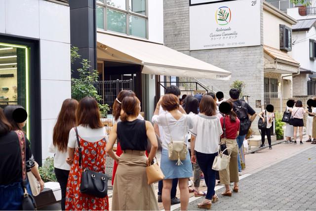 期間限定 中目黒の大行列!若い女性に人気 FUWAGORI』by 毎日外食 ...