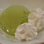 廻鮮寿司錦 - 抹茶アイス