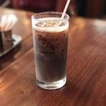 ハングリータイガー - 【2017.7.26】セットのアイスコーヒー。