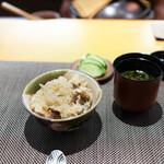 寛幸 - 鮎ごはんと味噌汁