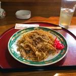 一心 - 料理写真:富士宮焼きそば