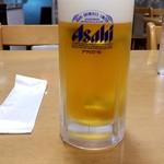 珍香苑 - 生ビール