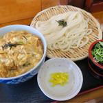つるつる - 料理写真:カツ丼  ザル大