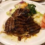 ニューコトブキ - 牛ヒレ肉あみ焼き定食 2,300円