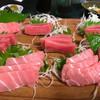 網代荘 - 料理写真:別注文;本マグロの刺身(二人前から・グラム計算)3,800円前後