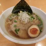 麺屋 宮本 - あっさり和風ラーメン850円
