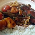 ビストロミナミヤ - 野菜カレールー