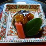 京料理 かじ - 鰤の山椒焼きと聖護院大根
