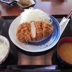 とんかつ神楽坂さくら - ロース定食(山形豚)120㌘1580円