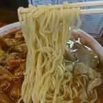会飯よこ多 - 2017年8月 半チャン焼肉ラーメン 620+260円