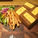 NORTH LOUNGE 北欧館 - 厚焼き玉子サンド プレート
