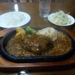 柊 - ハンバーグステーキセット