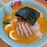 ラーメン山岡家 - 料理写真:特製味噌チャーシュー 味玉トッピング
