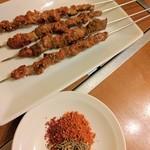71759567 - 羊肉串 & 魅惑のスパイス(ㅅ´ ˘ `)♡
