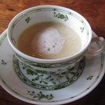 ラ・ネネグース - 蕪のスープ(2011.3 ランチ)