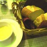 Ruban - パンとオリーブオイル