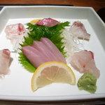 蟹御殿 - ②【夕食②】お造り♪