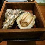 蟹御殿 - ②【夕食④】蒸し牡蠣♪