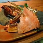蟹御殿 - ②【夕食⑤】焼き竹崎蟹♪