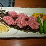 蟹御殿 - ②【夕食⑦】佐賀和牛の溶岩焼き♪