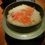 蟹御殿 - ②【夕食⑧】かに釜めし♪