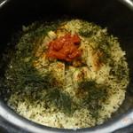 京料理 かじ - 鱧の炊き込みご飯