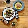 shokudo FUKU. - 料理写真:イベリコ豚ベジョータのグリルとプロシュートのクリームパスタ