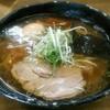麺哲 - 料理写真:【薄口醤油 + 煮玉子(名古屋コーチン)】¥800 + ¥100
