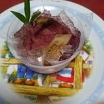 ファウンドリー - 丸ごといちじくのデザート
