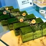 下町 DINING & CAFE THE sea - 抹茶ケーキ