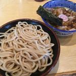 くり山 - 半チャーシューのせつけ麺