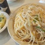 ひまつぶし - スパゲティ ひまつぶし風(中盛) 800円