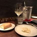71766283 - 長芋のマリネ  キリっと白ワインがピッタリ