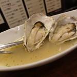 牡蠣 やまと - ☆白ワイン蒸しの具合も◎☆