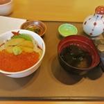 71768788 - 二色丼 ウニ・イクラ Sサイズ(\2,214)