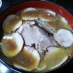ラーメン朋 - チャーシュー麺@950